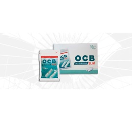 Filtro OCB Menthol Slim