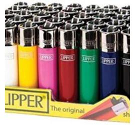 Encendedor Clipper Solido