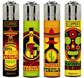 Encendedor Clipper Tequila Time