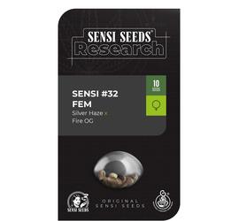 Sensi #32 ( Silver Haze x Fire Og ) (x3)
