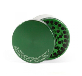 Grinder 4 piezas 90mm Aerospaced Green