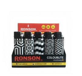Encendedor Ronson Black & White