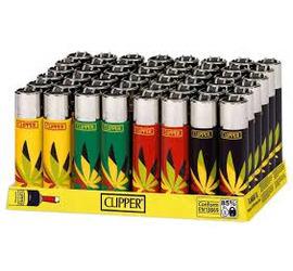 Encendedor Clipper Hojas Maria 8
