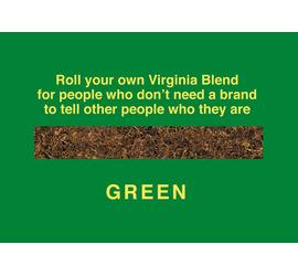 No Name GREEN – VIRGINIA BLEND