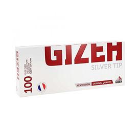 Tubos Gizeh Silver 100unid.