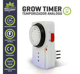 Timer Analogo GrowGenetics