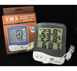 Termohigrometro con sonda Digital TH3