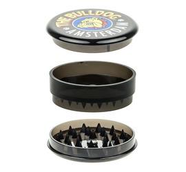 Grinder Bulldog Plástico Negro 3 partes
