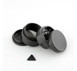 Grinder 4 piezas 50mm Aerospaced Negro