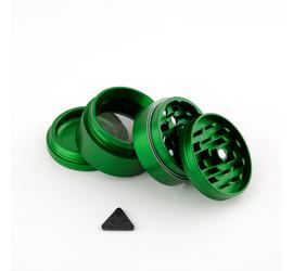 Grinder 4 piezas 40mm Aerospaced Verde