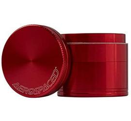 Grinder 4 piezas 40mm Aerospaced Rojo