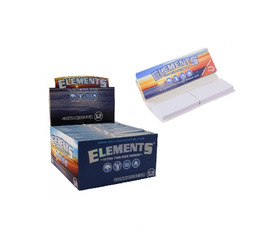 Papelillos Elements Connoisseur 1 1/4 + Tips