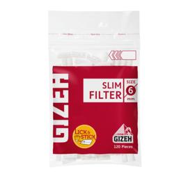 Filtro Gizeh Slim Rojo con pegamento