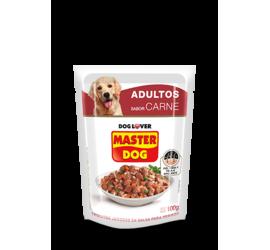 Sobre Master Dog Carne 100 Grs
