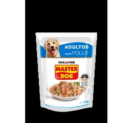 Sobre Master Dog Pollo 100 Grs