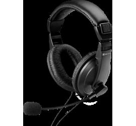 KSH-301 Audífono con Mic. y Control Vol. 3.5mm