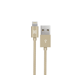 Cable Lightning® iPhone 50cm Gold