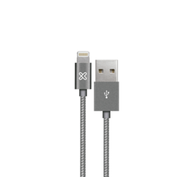 Cable Lightning® iPhone 2mt Gray