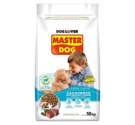 Master Dog Cachorro 18kg Carne y Leche
