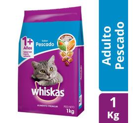 Whiskas Pescado Adulto 1kg