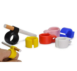Anillo de silicona porta cigarrillos