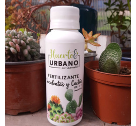 Fertilizante Suculentas y Cactus 125ml