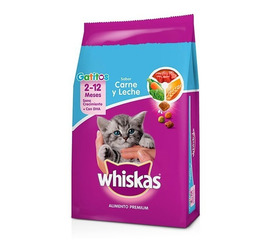Whiskas Gatitos Carne y Leche 10 Kg