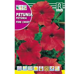 Semilla Petunia Fire Chief