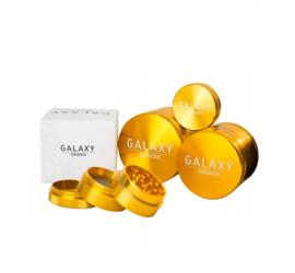 Moledor Metálico Galaxy 38mm Amarillo