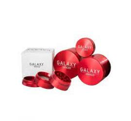 Moledor Metalico Galaxy 55mm Rojo
