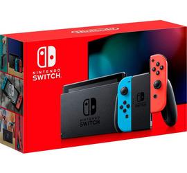 Nintendo Switch 1.1 Neon Lt2