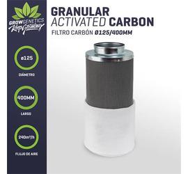 Filtro Carbon 125/400mm (240m3/h) - Grow Genetics