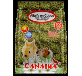 Alfalfa en Cubos 500grs