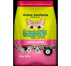 Arena Aglutinante 10kg Top K9 Rosas