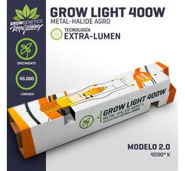 Ampolleta Sodio 400W Extra Lumen - GG