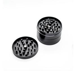 Moledor Aluminio 63mm Negro