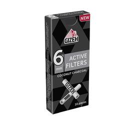 Boquillas Gizeh Carbon Activo 6mm