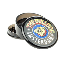 Grinder Bulldog Plastico Negro 3 Partes
