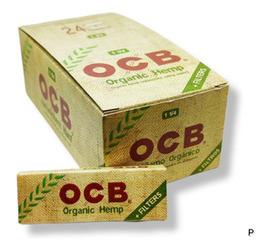 Papel OCB Cañamo Organico 11/4 + Tips