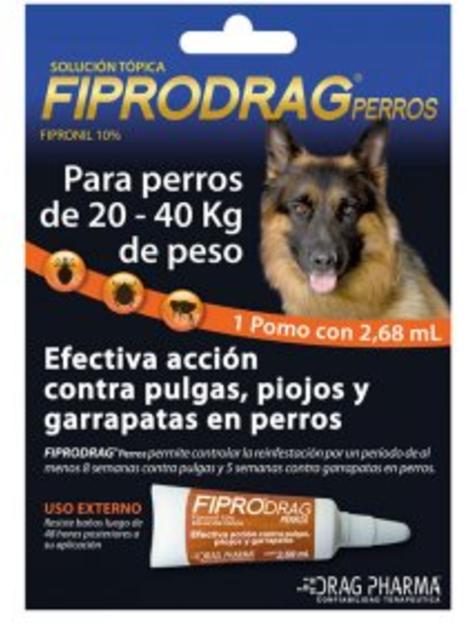 Fipro Drag Perro 2.68ml 20-40kg