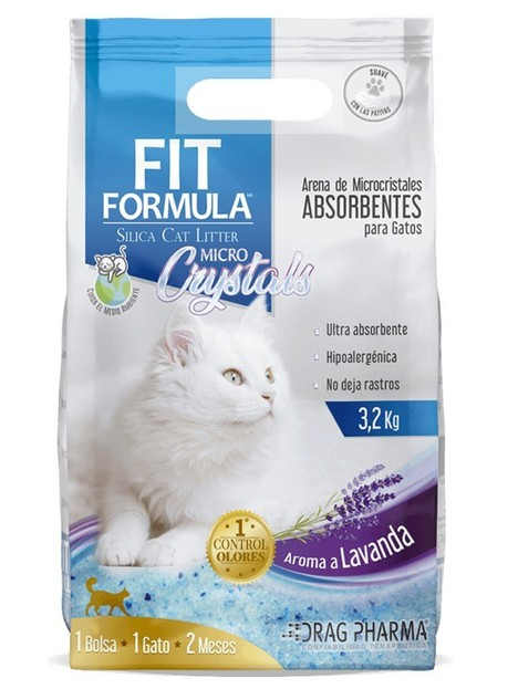 Fit Micro Crystal Cat Litter 3.2kg