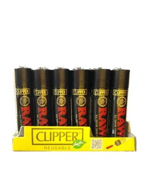 Clipper Raw Black
