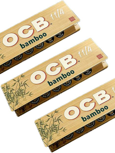 Papel OCB Bamboo 1 1/4