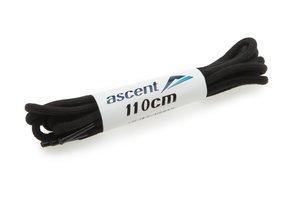 Ascent School Lace 110cm  Black (Unisex/All) (146454)