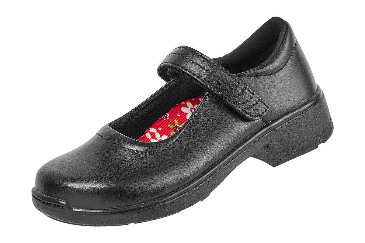 eb60cf1ec Adela (B) Black (Female/Youth) - School - Ascent Footwear