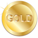 Small gold medal