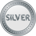 Small silver medal