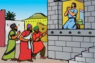 Picture 17. Daniel Prays to God
