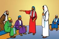 Picture 17. Jesus Heals a Man's Hand