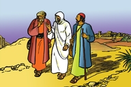 Picture 13. Jesus Teaches Two Friends